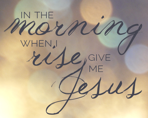 morningrisejesus
